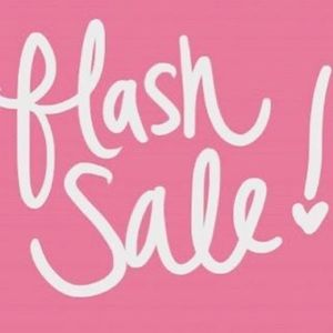 Flash Sale on Everything.